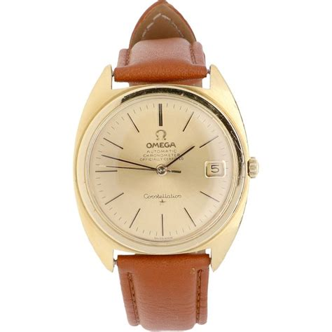 montre omega constellation pour homme catawiki