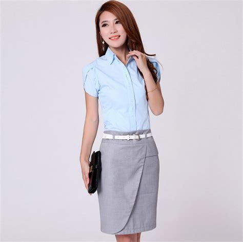 Kemeja Lengan Pendek Barang Cengbeng kemeja wanita lengan pendek 102 ty model baju kerja