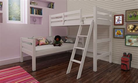 Corner Bunk Bed Plans Aaron Corner Bunkbed Mattressshop