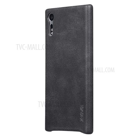 Xperia Xz Leather Cover Vintage X Level Casing Bumper Armor x level for sony xperia xzs xz vintage leather coated