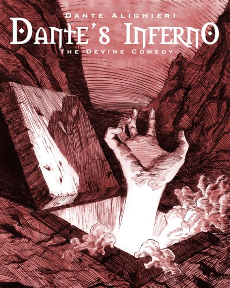 dante s inferno book cover on behance