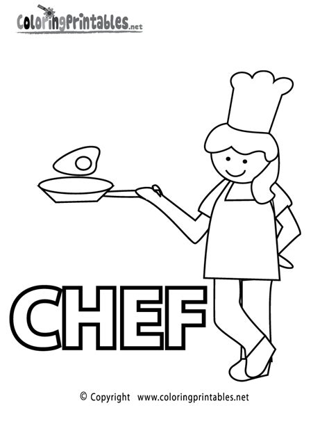 coloring page chef hat free chef s hat coloring pages