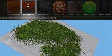 zbrush grass tutorial zclassroom lesson fibermesh basics