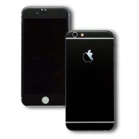 iphone   black matt skin wrap decal easyskinz