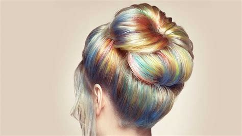 can you color your hair while how to get tie dye hair for summer l or 233 al