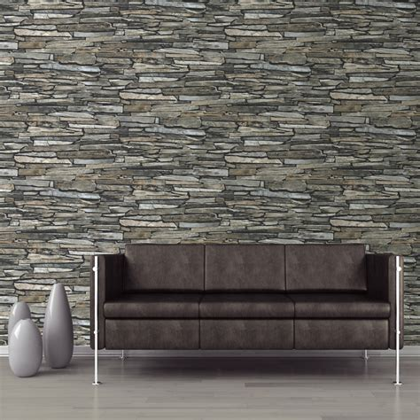 mural wallpaper slate wall muriva j872 murivamuriva