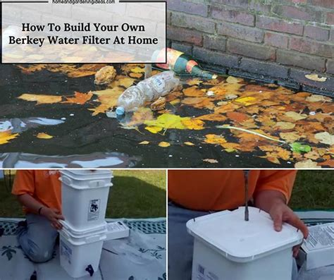 how to make your own berkey water filter