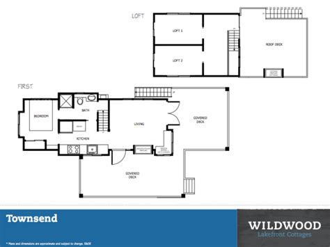 Park Model Floor Plans by Townsend Park Model Cottage At Exclusive Tiny Living