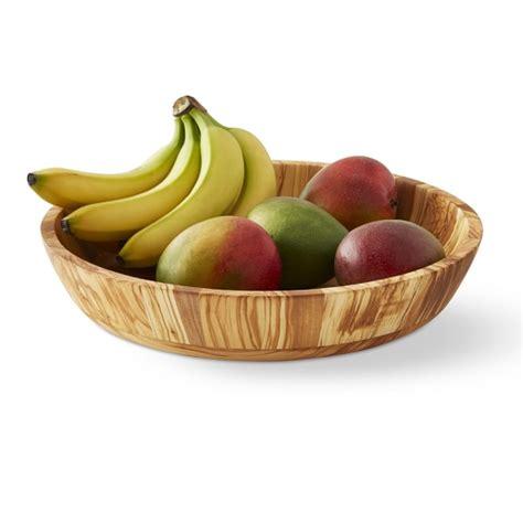 fruit bowl olivewood fruit bowl williams sonoma