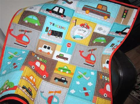 Toddler Quilt Bedding by Baby Quilt Boy Vroom Toddler Car Quilt Baby Bedding By