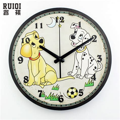 bedroom wall clock aliexpress com buy cartoon children room decoration wall