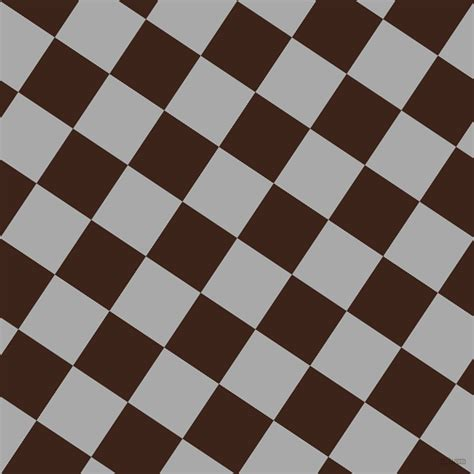 Dark Gray and Brown Pod checkers chequered checkered