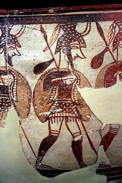 vaso cretese ceramica micenea