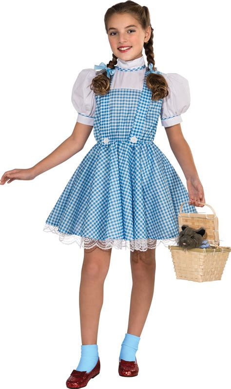 Dress Oz the wizard of oz dorothy deluxe child costume