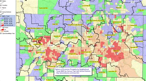texas independent school districts map national children education statistics