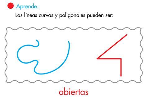 figuras geometricas rectas y curvas el blog de segundo l 205 neas rectas curvas y poligonales