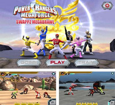 download mod game power ranger dash saban s power rangers dino charge rumble for android