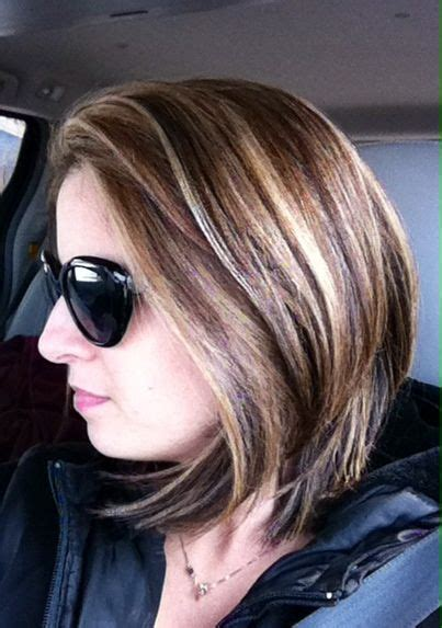 blonde and caramel highlights on short bobs long bob blonde caramel highlights bob haircut hair