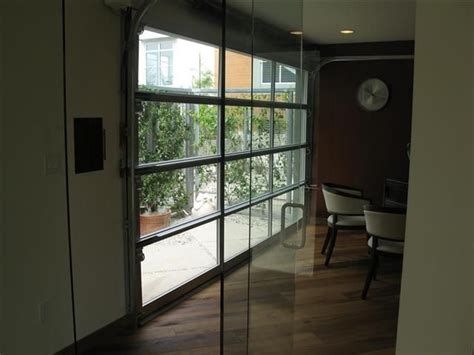 Garage Doors With Glass 78 Images About Garage Door On Modern Living Rooms Glasses And Window