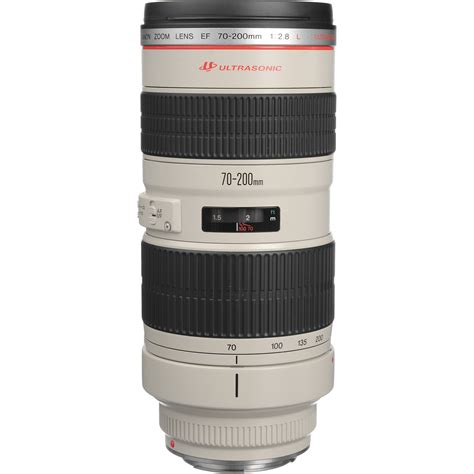 canon lens objetiva canon eos ef 70 200mm f2 8 l usm