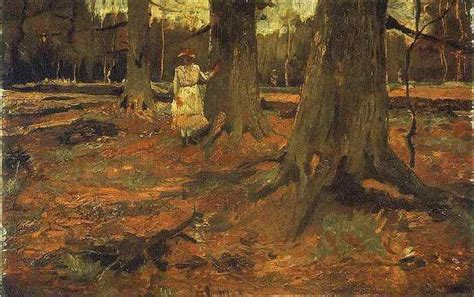 0008288607 the girl in the woods vincent van gogh primer per 237 odo mas de 100 cuadros