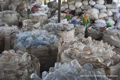 potensi menggiurkan  sampah plastik bagian