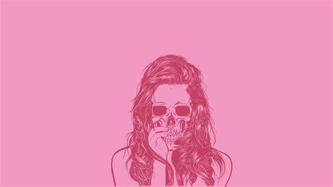 wallpaper hd cool girl skull wallpapers cool girl pink hd desktop wallpapers