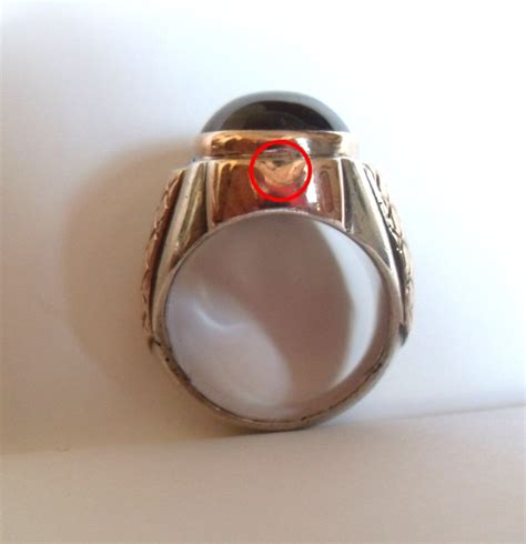 Cincin Lingkaran Warna Emas barang antik lukito cincin amathyst light purple