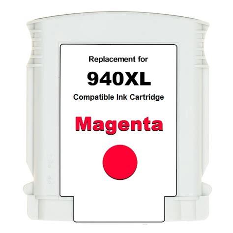 Tinta Hp 940xl Magenta Color Original Cartridge hp 940xl ink cartridge 940xl magenta c4908an refilled