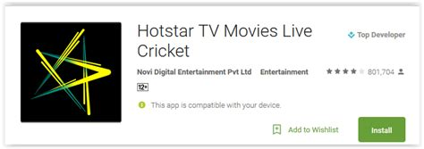 hotstar tv android apps reviews ratings and updates on newzoogle
