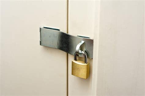 Door Hasp by Hasp And Staple On A Cupboard Door 7234 Stockarch Free