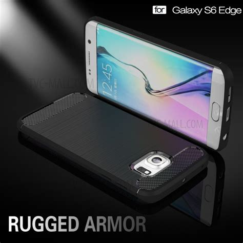 carbon fibre brushed tpu for samsung galaxy s6 edge