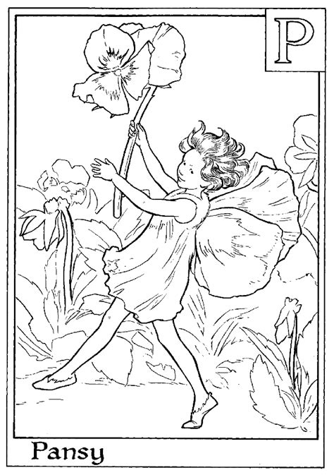 coloring pages fairies and flowers flower fairies coloring pages coloring home