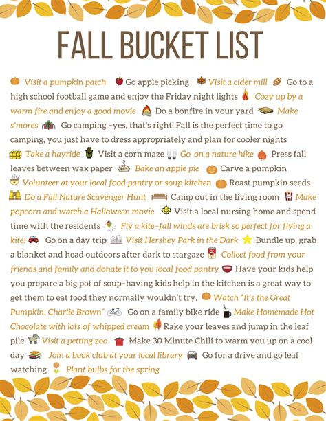 Halloween Home Made Decorations fall bucket list 30 things to do with the kids this fall