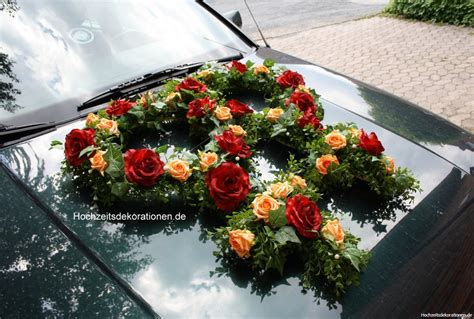 Hochzeitsdekoration Auto by Autoschmuck Frauenhochzeit Hochzeitsdekorationen
