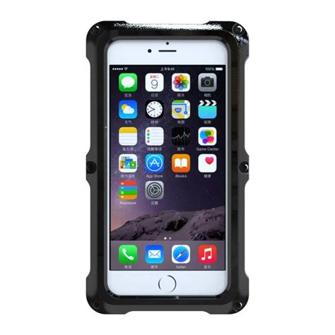 r iphone 7 plus waterproof for iphone 7 plus 6s slim waterproof tempered glass shockproof pc cover ebay