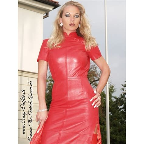 leather dress long ds  crazy outfits webshop