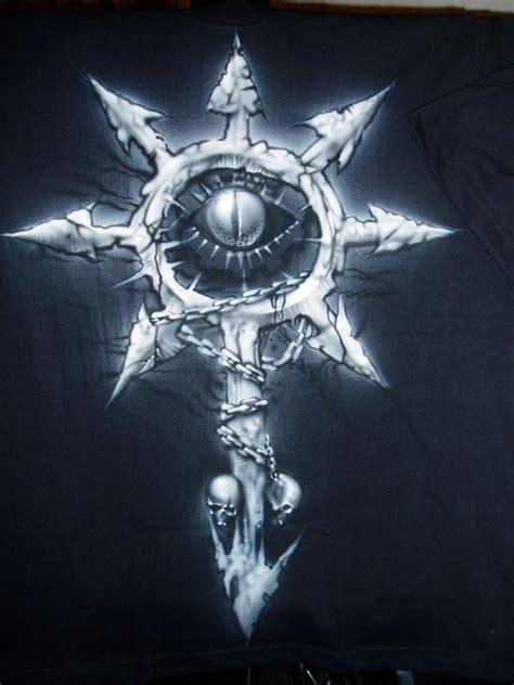 chaos star tattoo designs black chaos black and
