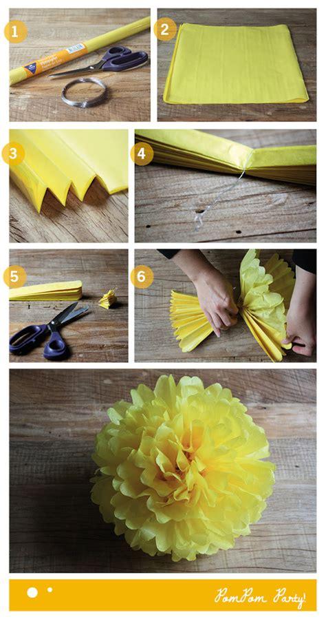 como decorar dulceros con papel china c 243 mo hacer pompones de papel pequeocio