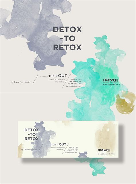 Detox To Retox by Detox To Retox On Behance