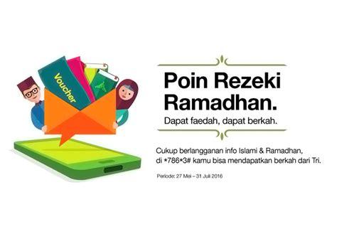Jakarta Baru Kita Mulai Cahaya Ramadhany ramadhan bersama tri makin nyaman ajah strategi