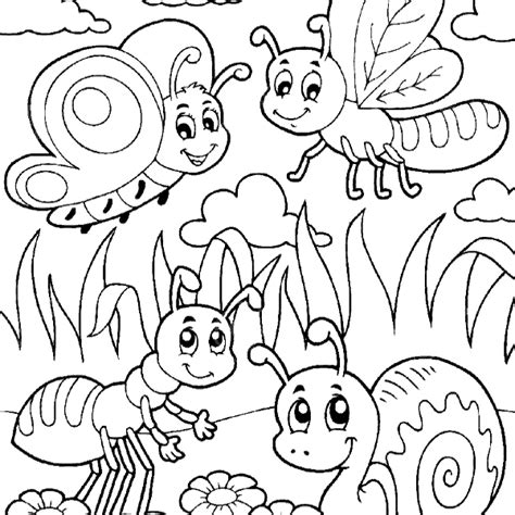 bugs coloring pages bugs colouring pages 6109