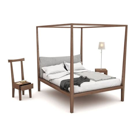 Bed And Nightstand Bed With Chair And Nightstand 3d Model Obj Cgtrader