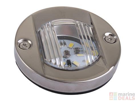 boat navigation lights south australia buy stainless transom led stern light 75mm round flush