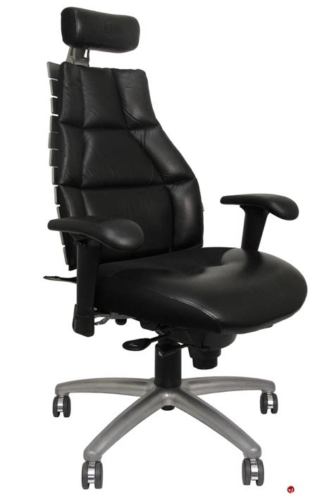 ergonomic high back office chair minimalist desk design