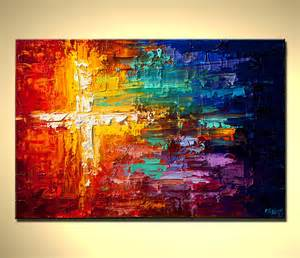 colorful abstract paintings original abstract painting contemporary colorful textured
