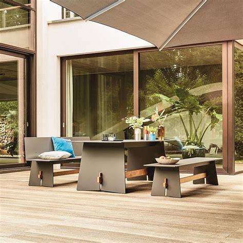 german garden furniture modern garden table and benches tension contemporary