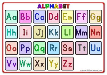 printable alphabet poster upper and lower case alphabet posters aussie childcare network