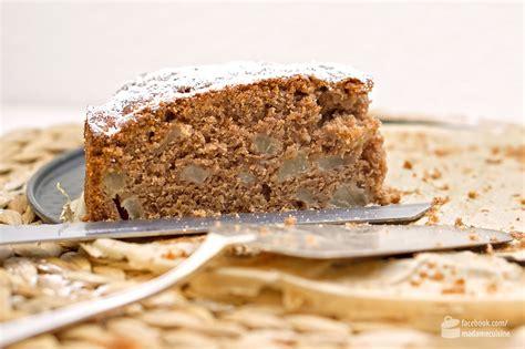 birnen walnuss kuchen winterlicher birnen nuss kuchen madame cuisine