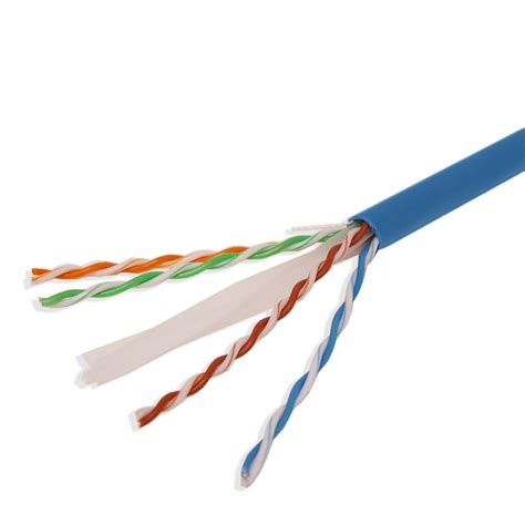 Cable Utp Cat 6 cat6 1000ft utp solid network ethernet cable bulk wire 550mhz 23 awg lan blue ebay